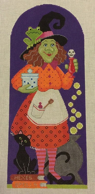 click here to view larger image of Bea Witch (18ct) (hand painted canvases)