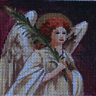 click here to view larger image of Angel Coaster (hand painted canvases)