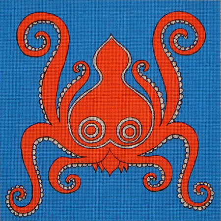 click here to view larger image of Octopus (hand painted canvases)