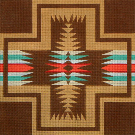 Navajo No 1 hand painted canvases