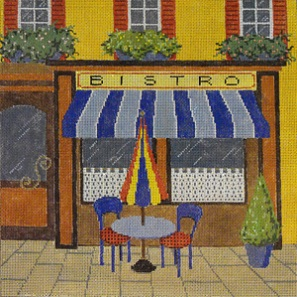 click here to view larger image of Bistro (hand painted canvases)