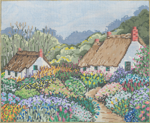 click here to view larger image of Careen's Cottage (hand painted canvases)