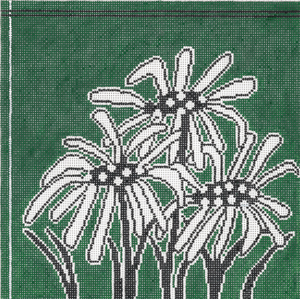 click here to view larger image of Emerald Simplicity (hand painted canvases)