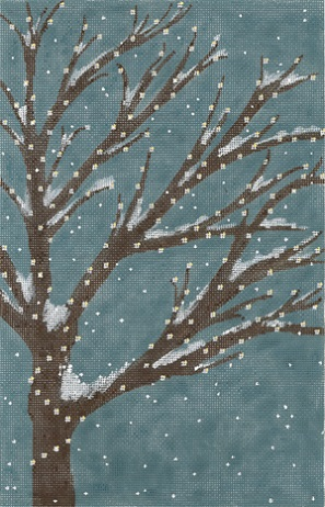 click here to view larger image of An Evening In December (hand painted canvases)