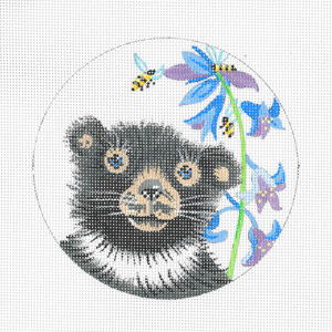 click here to view larger image of Baby Bear (hand painted canvases)