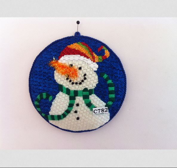 click here to view larger image of  I Knit It Myself (hand painted canvases)