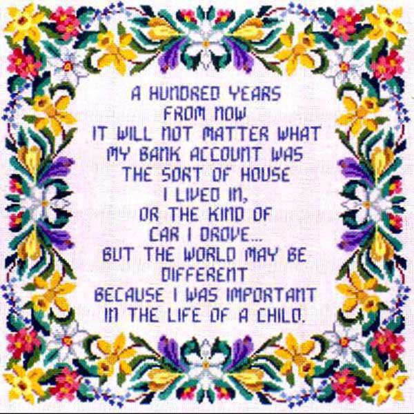 click here to view larger image of A Hundred Years (hand painted canvases)