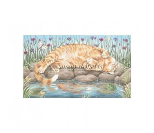 click here to view larger image of Afternoon Nap (hand painted canvases)