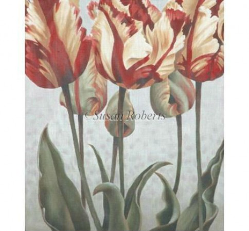 click here to view larger image of Asiatic Tulips - 13ct (hand painted canvases)