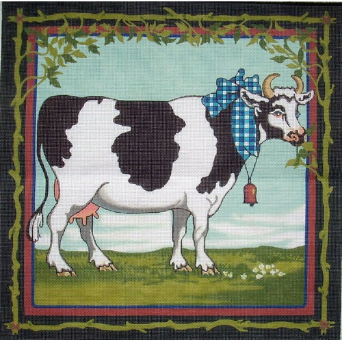 click here to view larger image of Cow (hand painted canvases)