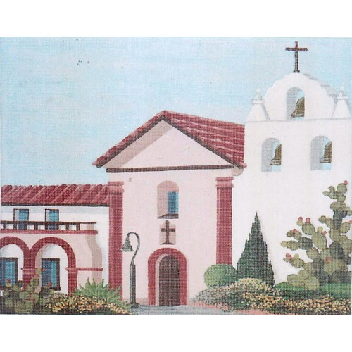 click here to view larger image of California Mission (hand painted canvases)