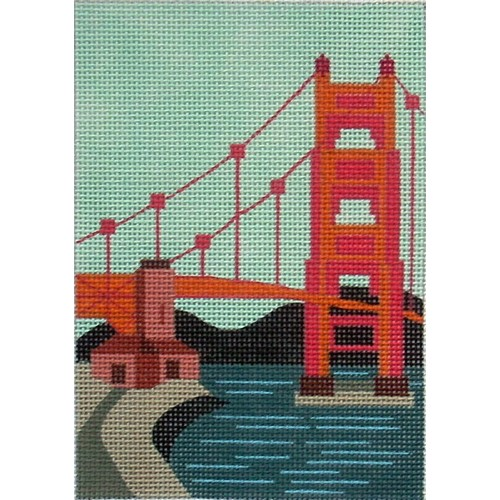 click here to view larger image of Golden Gate Bridge (hand painted canvases)