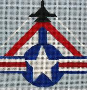 click here to view larger image of Top Gun - Movie Coaster (hand painted canvases)