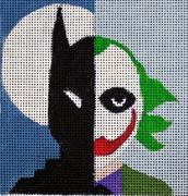 click here to view larger image of Batman - Movie Coaster (hand painted canvases)
