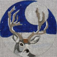 click here to view larger image of Deer Ornament (hand painted canvases)