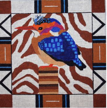 click here to view larger image of African Kingfisher (hand painted canvases)