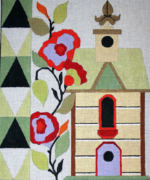click here to view larger image of Birdhouse 1 (hand painted canvases)