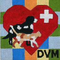 click here to view larger image of DVM (hand painted canvases)