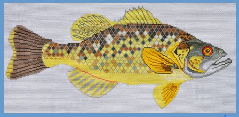 click here to view larger image of Bass (hand painted canvases)