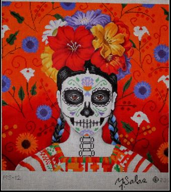 click here to view larger image of La Hermosa Anita (hand painted canvases)
