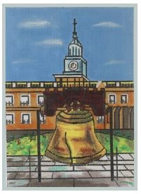 click here to view larger image of Liberty Bell (hand painted canvases)