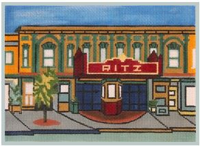 click here to view larger image of Ritz, The (hand painted canvases)