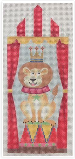 click here to view larger image of Circus Tent Lion (hand painted canvases)