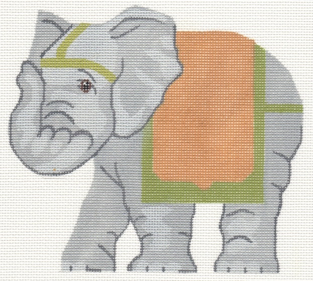 click here to view larger image of Asian Elephant (hand painted canvases)