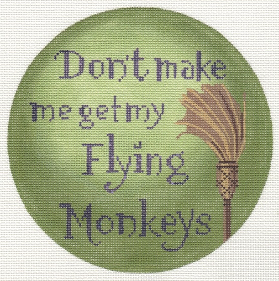 click here to view larger image of Dont Make Me Get My Flying Monkeys (hand painted canvases)