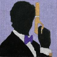 click here to view larger image of Bond James Bond - Movie Coaster (hand painted canvases)