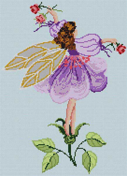 click here to view larger image of Violet Fairy (hand painted canvases)