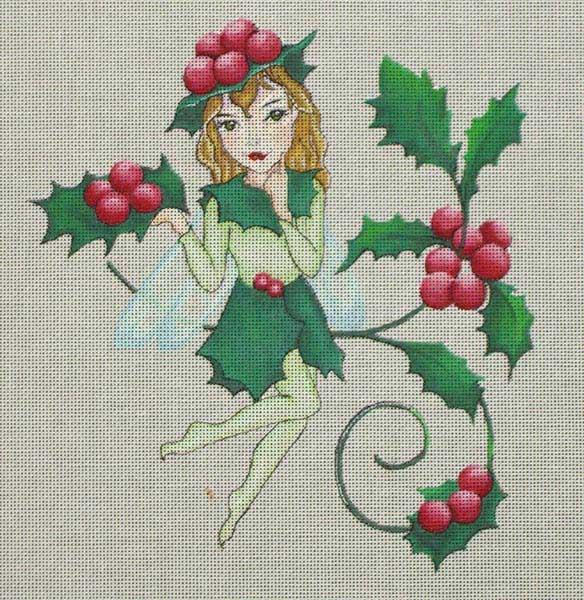 click here to view larger image of Christmas Fairy (hand painted canvases)