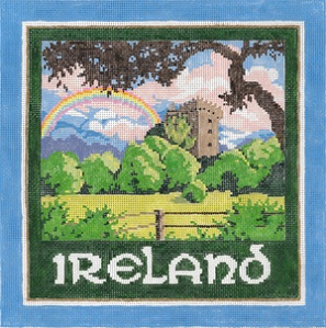 click here to view larger image of Ireland (hand painted canvases)