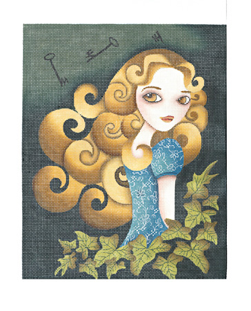 click here to view larger image of Alice (hand painted canvases)