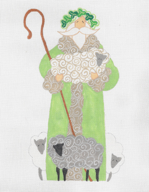 click here to view larger image of Irish Santa, The (hand painted canvases)