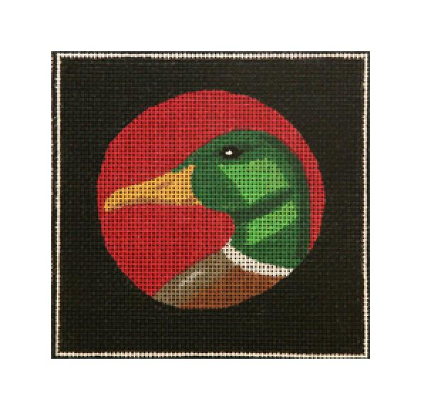 click here to view larger image of Duck Head (hand painted canvases)