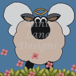 click here to view larger image of Holy Sheep (hand painted canvases)