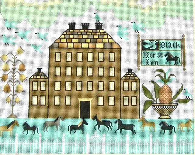 click here to view larger image of Black Horse Inn (hand painted canvases)