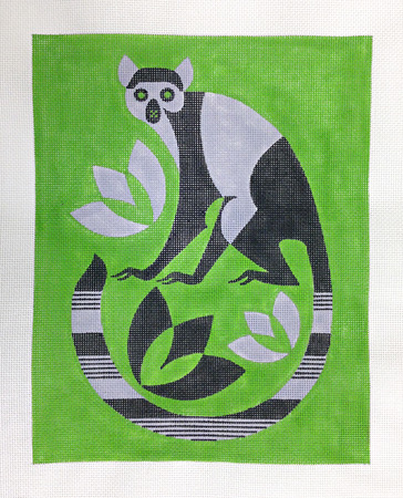 click here to view larger image of Lemur (hand painted canvases)