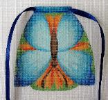 click here to view larger image of Butterfly - Apron Strings Of The Month (hand painted canvases)