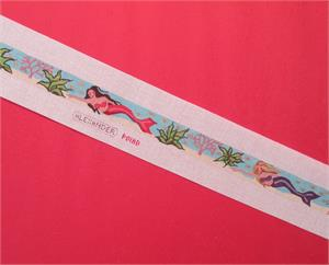 click here to view larger image of Mermaids Belt (hand painted canvases)