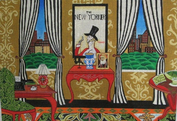 click here to view larger image of New Yorker, The (hand painted canvases)