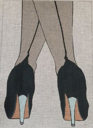 click here to view larger image of Stockings (hand painted canvases)
