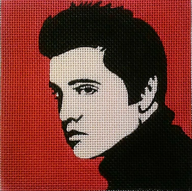 click here to view larger image of Elvis Pop Art (hand painted canvases)