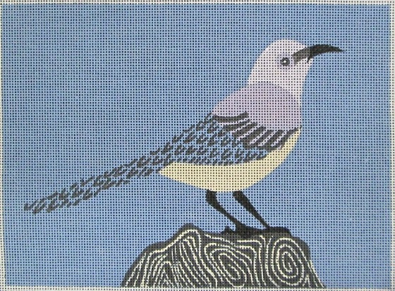 click here to view larger image of Mockingbird (hand painted canvases)