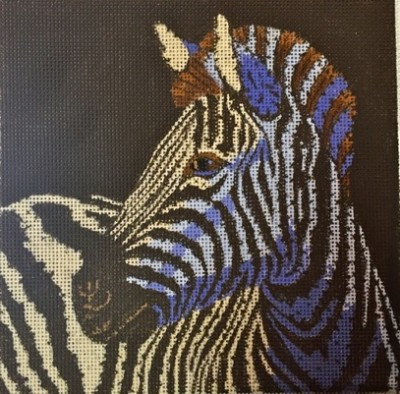 click here to view larger image of Zebra (hand painted canvases)
