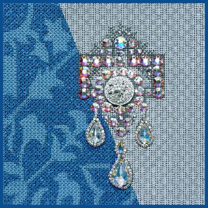 click here to view larger image of Dutch Brooch - Stitch Guide (books)