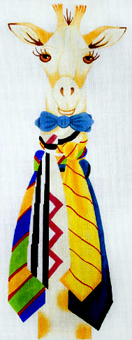 click here to view larger image of Geoffrey - High Style (hand painted canvases)