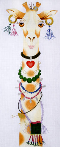 click here to view larger image of Geraldine - High Maintenance (hand painted canvases)