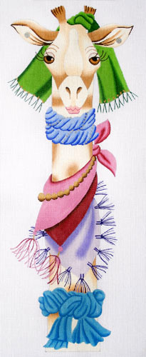 click here to view larger image of Gabriella - High Fashion (hand painted canvases)